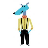 ilustracion-personaje-vectorial-galgo